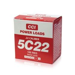 """Item # 88118 <ul> <li><span class=""""blackbold"""">CCI .22 Blank Power Loads - Red</span></li> <li>For Use w/ Remote and hand held Super Pro Dummy Launchers</li> <li>80 to 100 Yards Down Range</li> </ul>"""