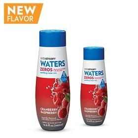 sodastream cranberry raspberry zero calorie sodamix