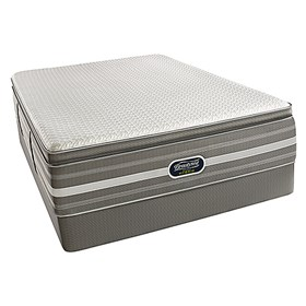 beautyrest recharge hybrid stockport ultimate luxury plush queen size mattress set