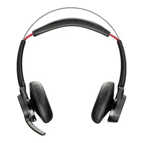 plantronics voyager focus uc b825 m headset only microsoft optimized