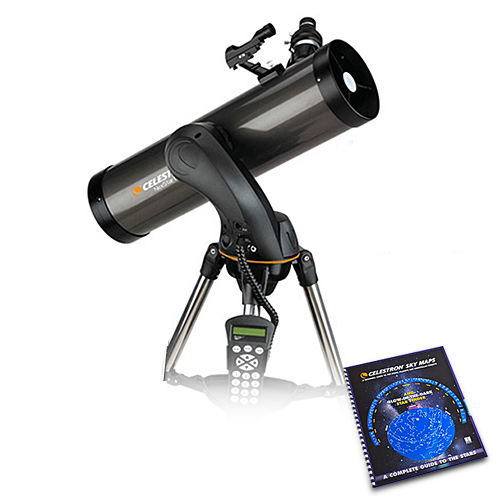 Details about Celestron 31145 NexStar 130SLT Telescope w/ 5 1 Inch Aperture  (130mm) & Skymaps