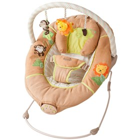 summer infant sweet comfort musical bouncer swingin safari