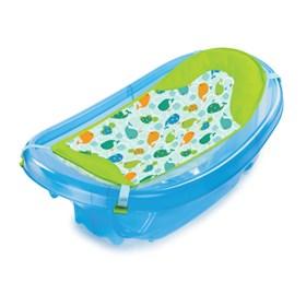 summer infant newborn to toddler baby bath blue