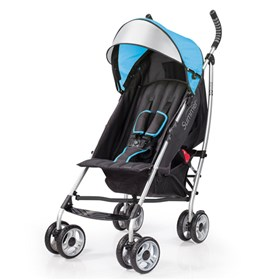 summer infant 3d lite convenience stroller carribean blue