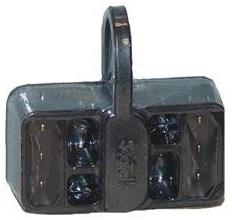 """Product #  D244  <br /> <ul> <li>SeaTalk Junction Block</li> <li>3 Sockets</li> <li style=""""margin-top:10px;""""><span class=""""blackbold"""">Compatible With:</span><br /> Raymarines's All SeaTalk Devices</li> </ul>"""