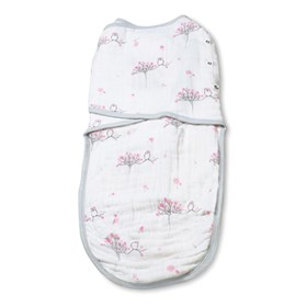 aden anais for the birds owls easy swaddle