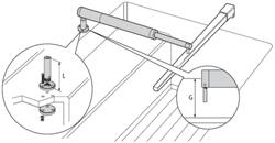 "Product #  D027 <br /> <ul> <li>2"" Pedestal Socket for Tiller Pilots</li> <li>Allows to Mount Horizontally</li> </ul>"