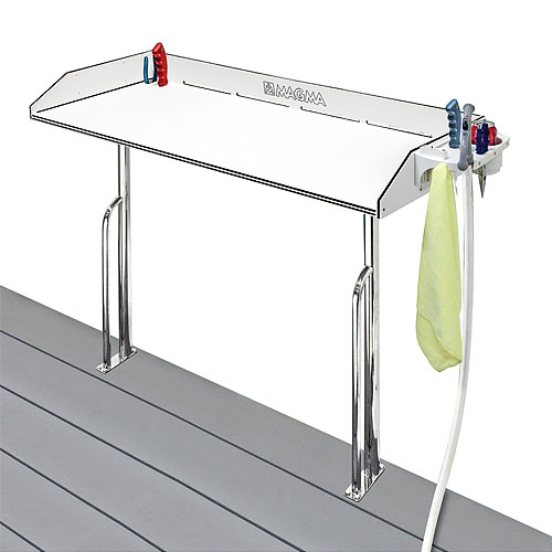 magma tournament series cleaning station dock mount 48 inch