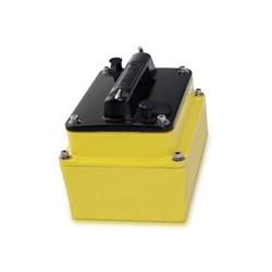 """Product #  A66089 <br /> <ul> <li>In-Hull Transducer</li> <li>Frequency 200/50 kHz</li> <li><span class=""""bluebold"""">Power 1 kW RMS</span></li> <li>Suitable w/ Fiberglass</li> <li>Depth Transducer</li> </ul>"""