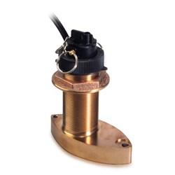 """Product #  A26043 <br /> <ul> <li>B744V Bronze Thru Hull Transducer</li> <li>Frequency 200 kHz</li> <li>Cable Length 45 ft</li> <li>2"""" Hole diameter for Installation</li> </ul> <br /> <br /> <span class=""""blackbold"""">For Raymarine Models:</span> <ul> <li>ST70, ST60+, ST290</li> </ul>"""