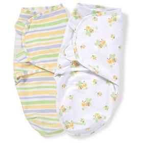 summer infant swaddleme adjustable baby wrap 2 pack sm med