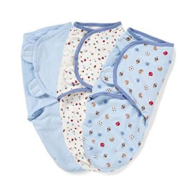 summer infant swaddleme adjustable baby wrap 3 pack sm med