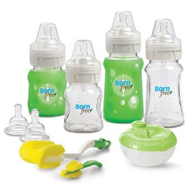 summer infant born free premium glass bottle gift set