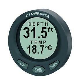 lowrance lst 3800 in dash digital depth and temp gauge