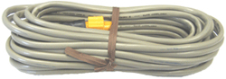 Product # 127-30 <ul> <li>Ethernet Extension Cable</li> <li>25' Cable Length</li> <li>Works w/ 5 Pin Yellow Ethernet Connector</li> </ul>