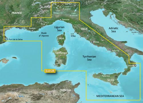garmin bluechart g3 hxeu012r mediterranean sea central west