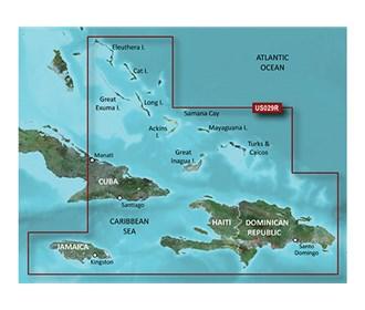 garmin bluechart g3 HXUS029R southern bahamas