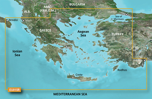 garmin bluechart g3 hxeu015r aegean sea and sea of marmara