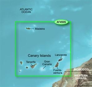 garmin bluechart g2 haf450s madeira canary islands