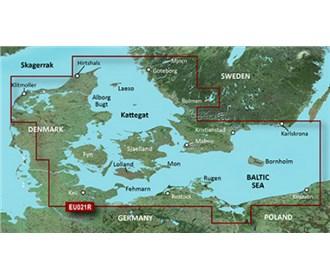 garmin bluechart g3 hxeu021r denmark east and sweden southeast