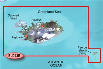 garmin bluechart g2 heu 044r iceland and faeroe island
