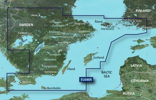 garmin bluechart g3 hxeu046r sweden southeast
