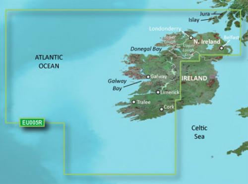 garmin bluechart g3 hxeu005r ireland west coast