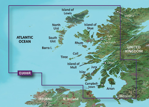 garmin bluechart g3 hxeu006r scotland west coast