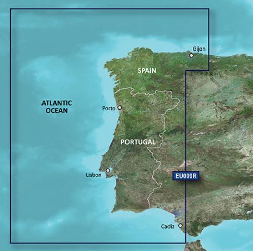 garmin bluechart g3 hxeu009r portugal and northwest spain