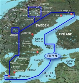 garmin bluechart g2 heu712L sweden east