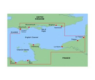 garmin bluechart g2 heu456s the solent and channel islands