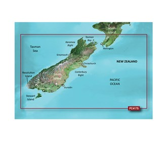 garmin bluechart g2 hd hxpc417s new zealand south