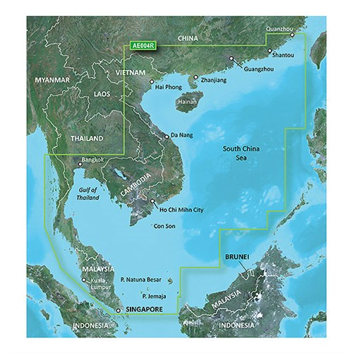 garmin bluechart g2 hd hxae004r south china sea
