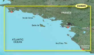 garmin bluechart g2 heu464s penmarch to les sables d'olonne