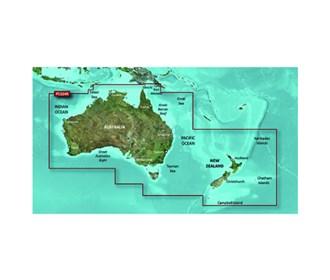 garmin bluechart g2 hd hxpc024r, australia new zealand