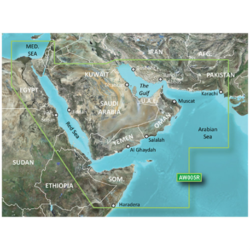 garmin bluechart g2 hd hxaw005r the gulf red sea