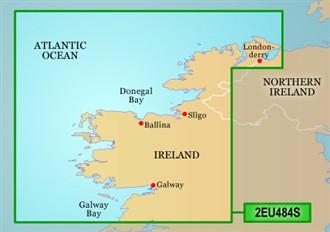 garmin bluechart 2eu484s ireland north west
