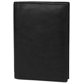 travelon saf id classic leather passpor cas  black