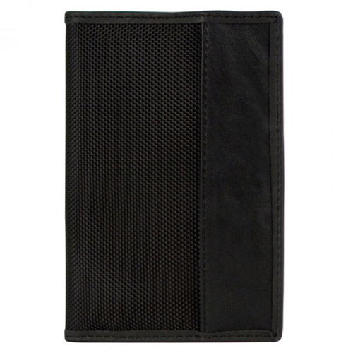 travelon safe id classic passport case black