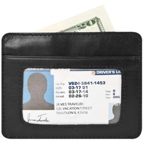 travelon safe id cash and card sleeve