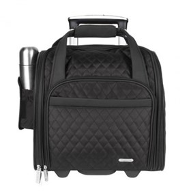 travelon wheeled underseat carry on with backup bag