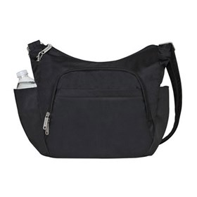 travelon anti theft classic cross body bucket bag