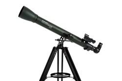 """<ul> <li><span class=""""blackbold"""">Optical Refractor Design</span></li> <li><span class=""""redbold"""">2.4 Inch Aperture(60mm)</span></li> <li>700mm Focal Length</li> <li>Focal Ratio of f/12</li> <li><span class=""""bluebold"""">142x Maximum Magnification</span></li> <li>Fully Coated Glass Optics</li> <li>SKU : 22105 </li> </ul>"""
