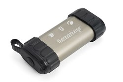"<ul> <li><span class=""bluebold"">2-in-1 device</span></li> <li>portable power pack and hand warmer</li> <li>4400 mAh rechargeable battery</li> <li>Durable, aluminum housing with protective silicone caps</li> <li>Includes USB charging cable and soft carry pouch</li> <li>SKU: 48012</li> </ul>"