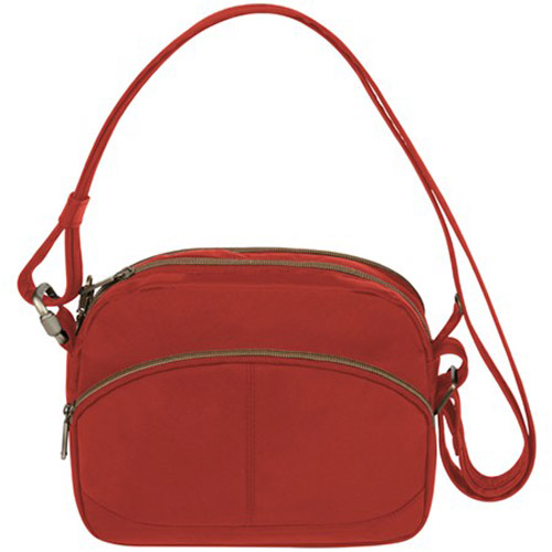 travelon anti theft signature east west shoulder bag