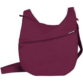 travelon classic light drape front shoulder bag