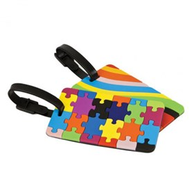 travelon set of luggage tags assorted colors