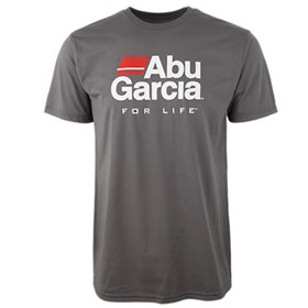 abu garcia original t shirt grey