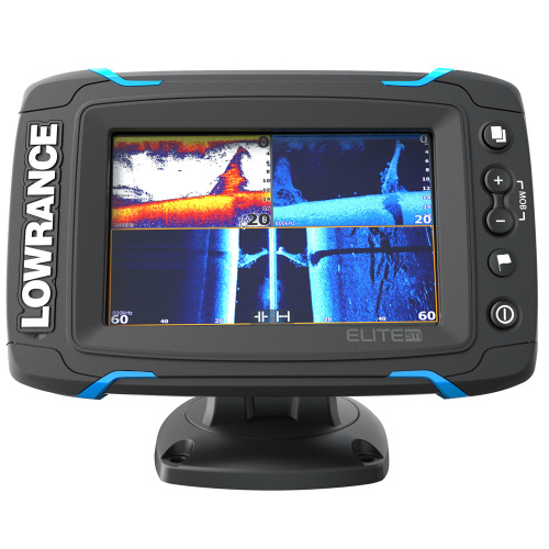 lowrance elite 5t touch no transducer