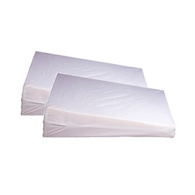 simmons beautyrest orthopedic wedge pillow size 2 pack